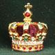歴史上の実際の王冠がミニチュアになって再現されました。女性からは、かわいいと大人気。コレクション、お部屋のインテリア、お気に入りのお人形に王冠を載せたり、楽しみ方はいろいろ。