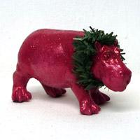 ドイツ雑貨ブルームヘン!キュートなピンクのカバのベイビー。おおきなカバと一緒に置くとより一層可愛さが引き立ちます。