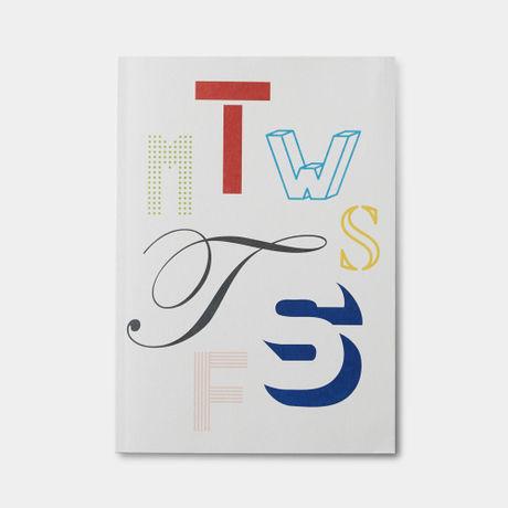 """「PALEVAIL(ペールベール)」は、薄紙の高度な印刷技術を誇る岩岡印刷工業(株)とグラフィックデザインカンパニーSAFARI inc.により2015年に生まれた新たなペーパープロダクツブランドです。その第一弾「Daily Note& Weekly Note」は身近な薄紙印刷として長く親しまれている""""日めくりカレンダー""""をもとに、日々新しいページをめくる楽しみ、そして薄紙特有の軽く滑らかなめくり心地に、デザインと機能を取り入れた日常使いの""""日めくりノート""""です。ページをめくる毎に、さり気なく現れる様々なデザインのグラフィックは、毎日の何気ない一瞬にそっと視覚的な変化による楽しさを与えてくれます。  ----------------------------  Monday~Sundayまでの1週間を各曜日ごとに様々なグラフィックデザインにより分けられた週ノート。日々のメモやスケジュール、日記や伝言ノートなど、工夫次第でご活用頂けます。"""