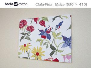 """北欧boras Crala-Fina(クララフィーナ)の色とりどりのお花たち。 ファブリックパネルで一足早くお部屋に""""春""""を呼んでみませんか?"""