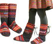 存在感満点!&足元が一気にエスニック!寒い季節には嬉しいブーツがアカ族より登場しました♪