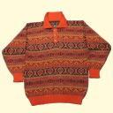 着心地の良いVネックセーター、お洒落な襟付きセーター